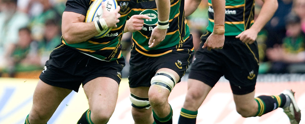 Working with Northampton Saints